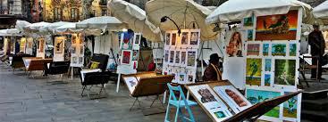Mercado-de-arte-de-la-plaza-del-Pi-1